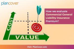 How is Commercial General Liability Insurance Premium Calculated